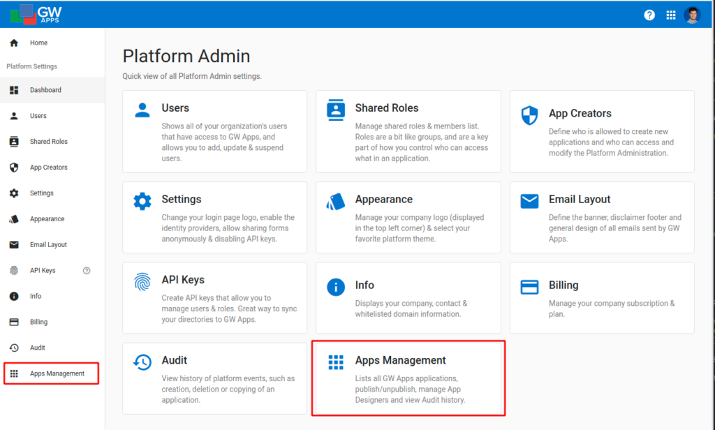 New Releases & Recent Updates - February Platform Apps Management