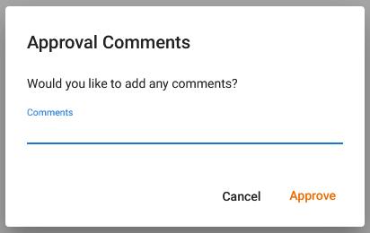 Confirmation Dialog Example