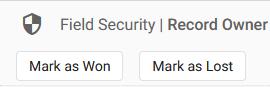 Field Security Buttons Hidden